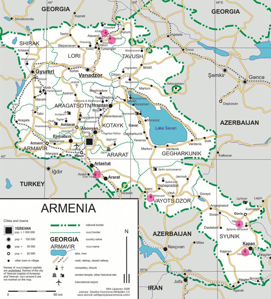 armania_mapa