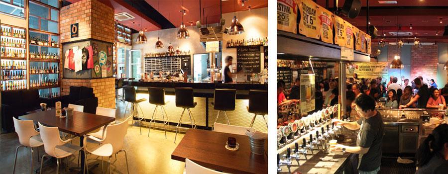 Taps Beer Bar to jedno z ciekawszych miejsc w Kuala Lumpur, gdzie można napićsię naprawdę dobrego piwa w przyjemnym klimacie