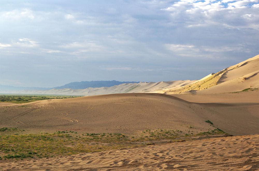 Pustynia Gobi w Mongolii