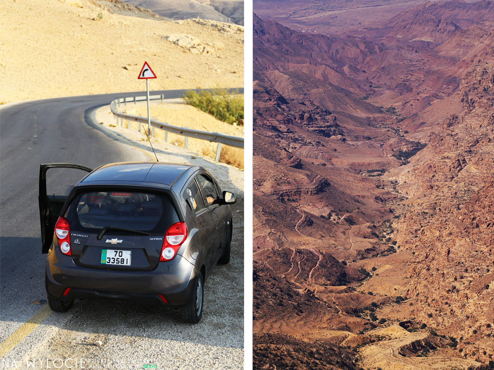 Wypożyczanie auta w Jordanii