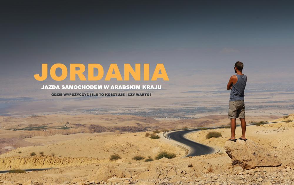 Jazda samochodem w Jordanii