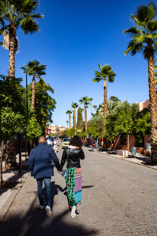 Ogrody Majorelle w Marrakeszu