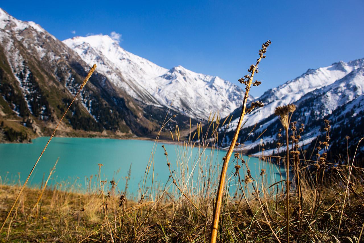 Jezioro Big Almaty Lake