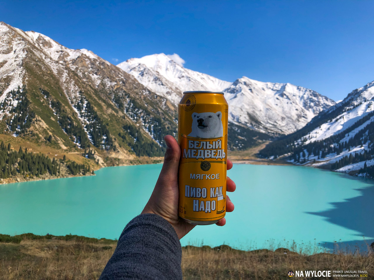 Big Almaty Lake - atrakcje Kazachstanu