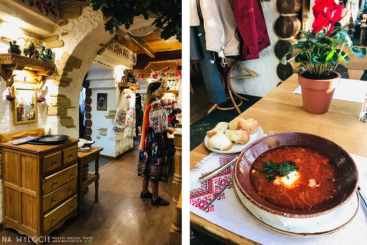 Kompot - kuchnia ukraińska w Odessie