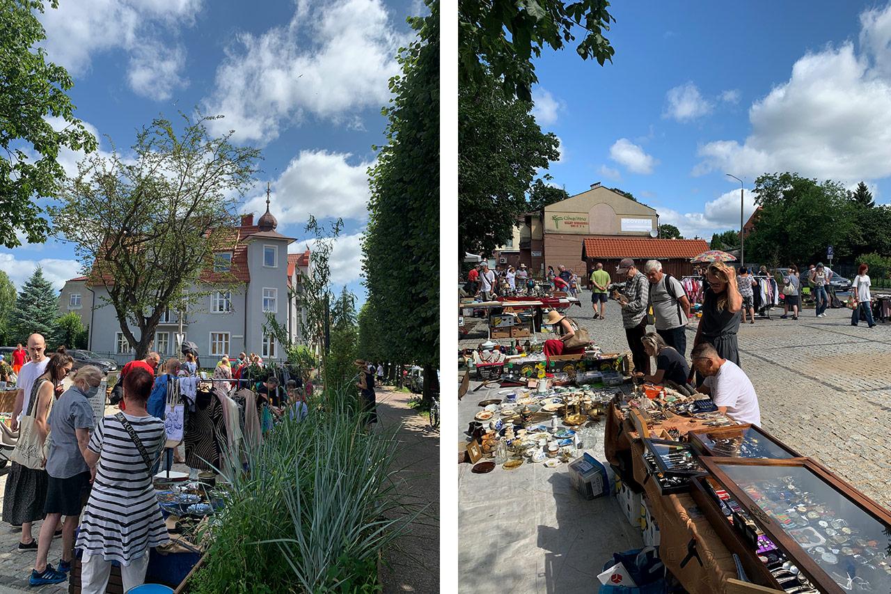 Pchli targ w Oliwie Gdańsk
